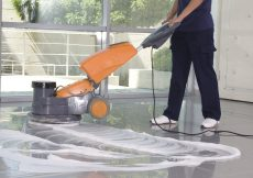 Rengøring på arbejdspladsen